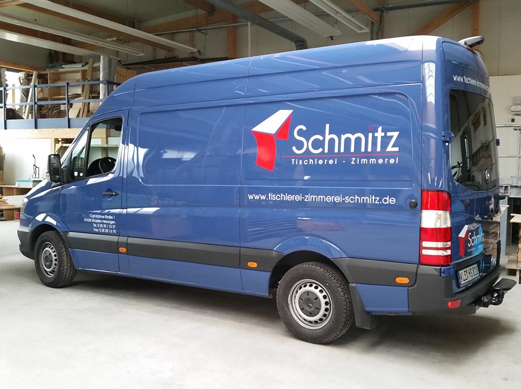 belettering bus Schmitz
