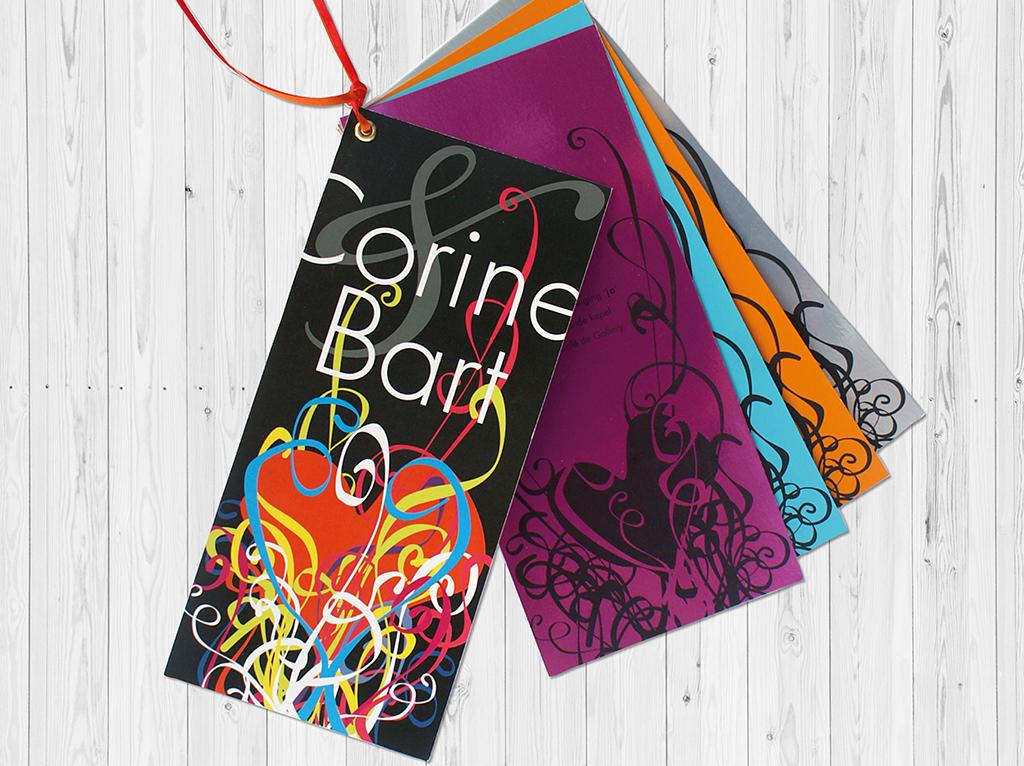 trouwkaart corine&bart